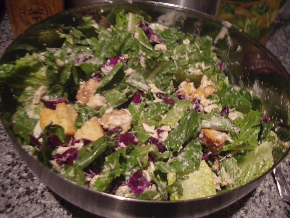 chicken ceasar salad
