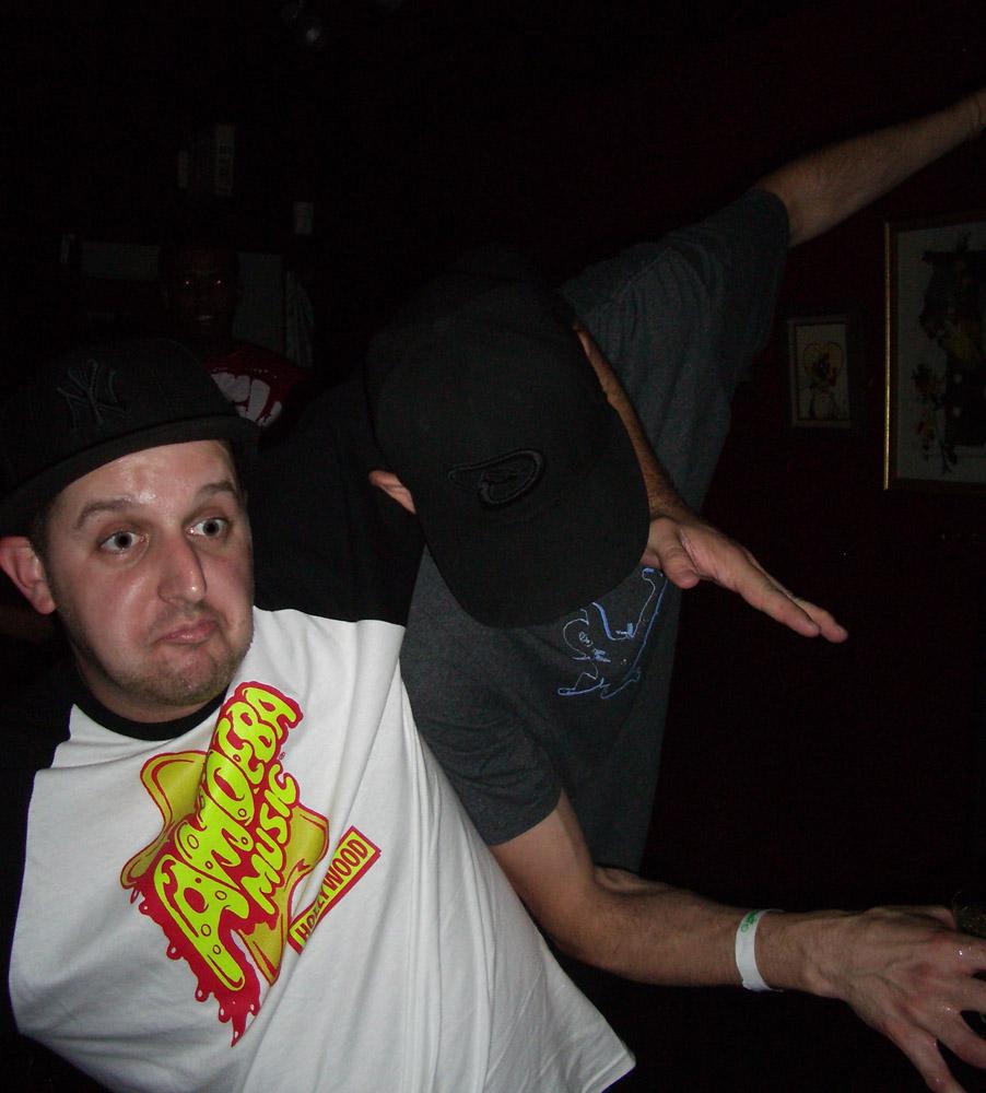 Jeff and Tige gettin down