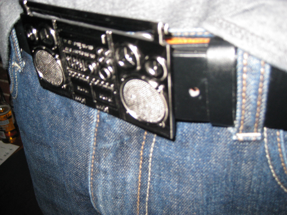 Tige's belt buckle